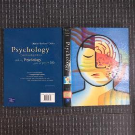 psychology third canadian edition英文原版16开精装本