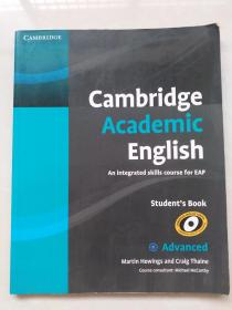Cambridge Academic English C1 Advanced Students Book: An Integrated Skills Cour