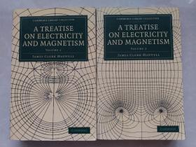 A Treatise on Electricity and Magnetism 电磁通论全二册