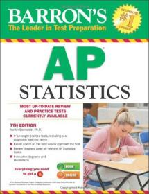 Barrons AP Statistics, 7th Edition 巴伦美联社统计,第7版(20)