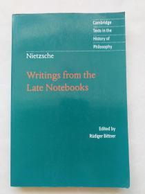 Nietzsche Writings from the Late Notebooks尼采