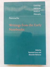 Nietzsche: Writings from the Early Notebooks尼采