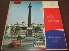 Philip Green The Moods Of London M版 黑胶B139  12寸黑胶唱片