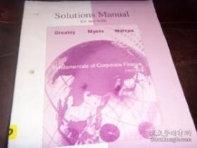 Solution Manual For Use With Fundamentals 0f Corporate Finance