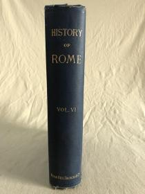 History of Rome and the Roman people  罗马及罗马人史