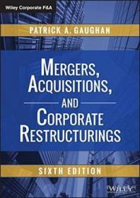Mergers Acquisitions And Corporate Restructurings (wiley Corporate F&a)