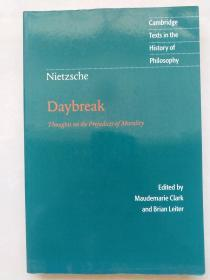 Nietzsche Daybreak Thoughts on the Prejudices of Morality尼采
