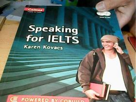 Collins Speaking for Ielts. by Karen Kovacs有盘共4册合售
