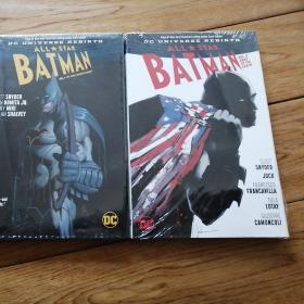 All-Star Batman Vol. 1 and 2 英文原版精装塑封