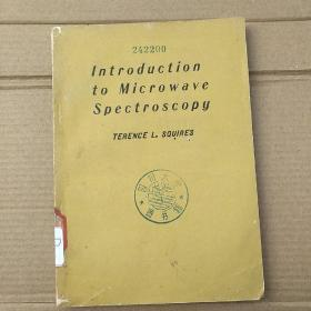 introduction to microwave spectroscopy(P1463)