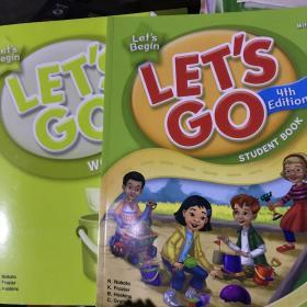 Lets Go, Lets Begin Student Book [With CD (Aud 十练习册 带光盘