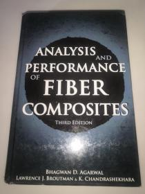 ANALYSIS  AND  PERFORMANCE  OF  FIBER  COMPOSITES  纤维复合材料的性能分析  精装16开