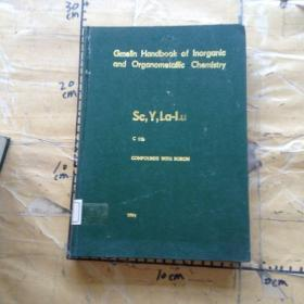 Gmelin Handbook of Inorganic and Organometallic Chemistry.Sc,Y,La-Lu  C11b