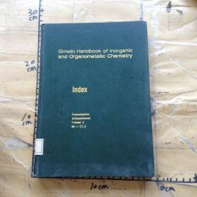 Gmelin Handbook of Inorganic and Organometallic Chemistry.Index.Volume 2  B6-C7.5