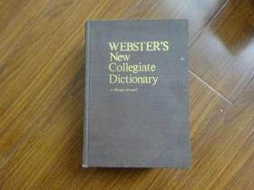 WEBSTERS NEW COLLEGIATE DICTIONARY