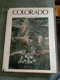 COLORADO BYDAVID MUENCH·TEXT DAVID SUMNER 大8开,彩印,精美风景图片