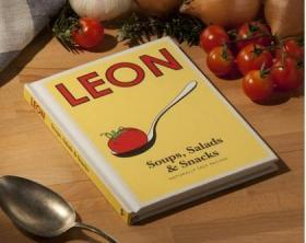 快乐柠檬:汤 沙拉与小食 英文原版 Little Leon: Soups, Salads & Snacks: Naturally Fast Recipes