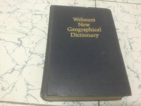 webster s new geographical dictionary  英文版