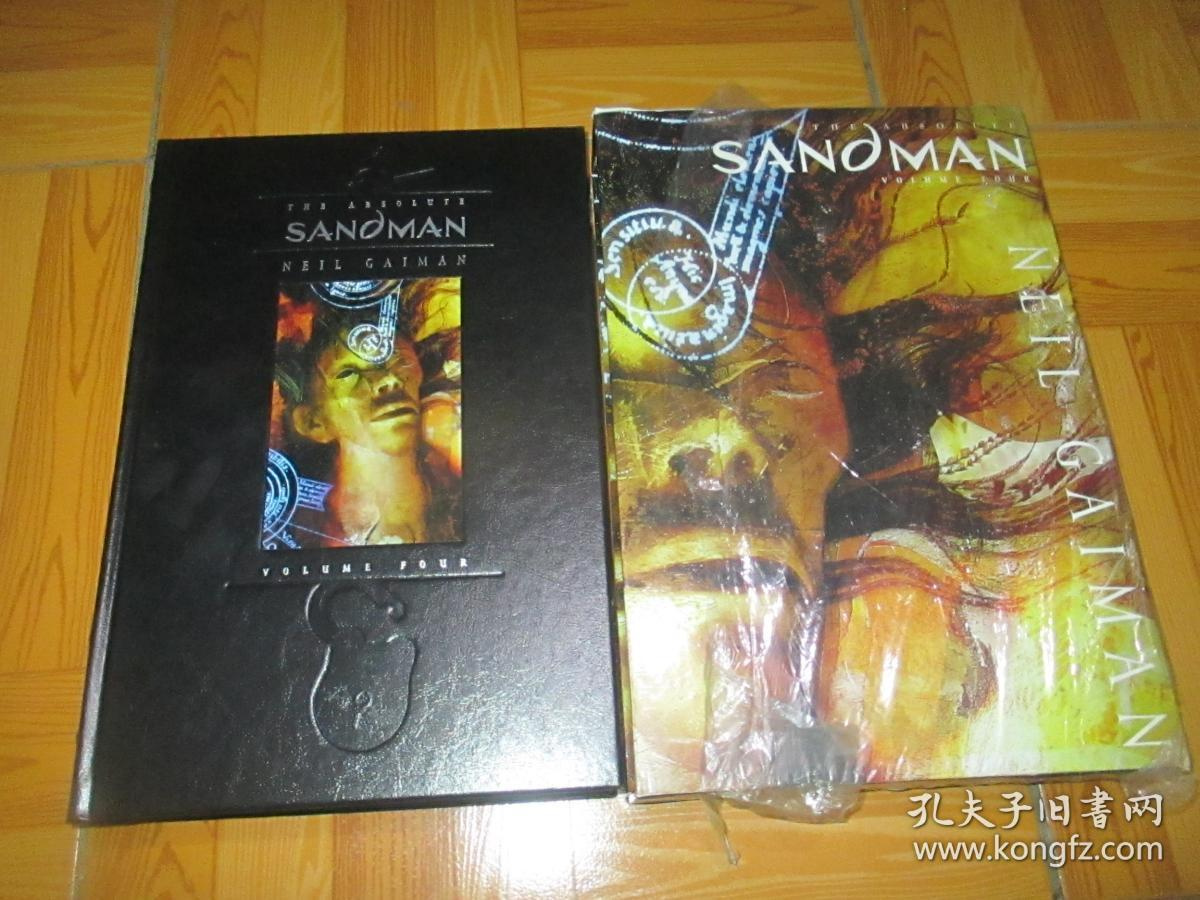 Absolute Sandman Vol.04  (8开,精装+函套)