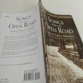 SONGS FOR THE OPEN ROAD【书名以图片为准】