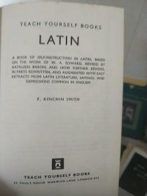 Teach  Yourself  Books  Latin