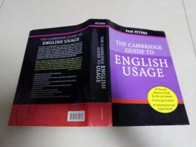 THE CAMBRIDGE ENGLISH GUIDE USAGE:剑桥英语用法指南【16开厚精装】