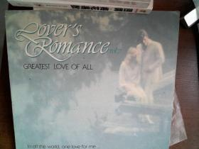 黑胶唱片: ROVERS ROMANCE VOL7, GREATEST LOVE OF ALL(英文版)