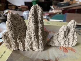 珊瑚石或蜂窩石有很多洞,2個合售