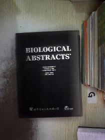 BIOLOGICAL ABSTRACTS 2002 VOLUME.109(19) 生物文摘2002年第109卷(19) 编号(031)