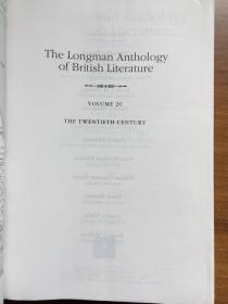 The Longman Anthology Of British Literature Volume 2c: The Twentieth Century (2nd Edition)