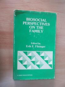 外文书  BIOSOCIAL  PERSPECTIVES  ON  THE  FAMILY(共208页,精装,32开)