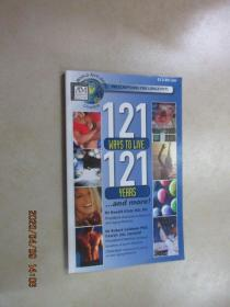 外文书  121ways to live 121  years  共136页