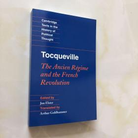 tocqueville the ancien regime and the french revolution 英文版