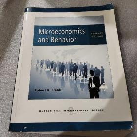 microeconomics and behavior seventh edition