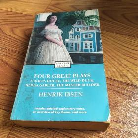 Four Great Plays of Henrik Ibsen: A Dolls House, The Wild Duck, Hedda Gabler, The Master Builder (Enriched Classics Series) by Henrik Ibsen 易卜生四大戏剧