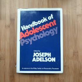 HANDBOOK OF  ADOLESCENT PSYCHOLOGY  青少年心理学手册