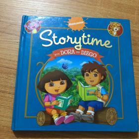 Storytime with Dora and Diego  朵拉故事书系列