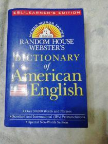 DICTIONARY OF AMERICAN ENGLISH