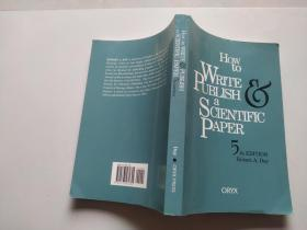 How To Write & Publish a Scientific Paper:5th Edition