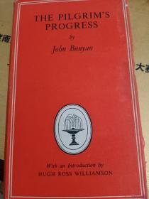 THE PILGRIMS PROGRESS BY JOBN BUNYAN  朝圣者的进步  英文原版 32开