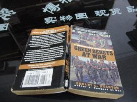 GREEN BERETS AT WAR  SHELBY L.STANTON   品如图   40-7号柜