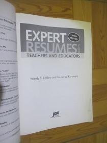 Expert Resumes for Teachers and Educators(3rd Edition)   大16开