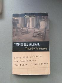 Three By Tennessee by Tennessee Williams(英文原版)