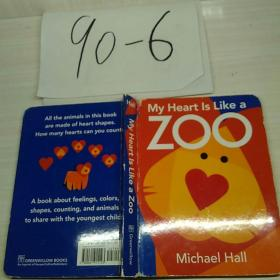 My Heart Is Like a Zoo [Board Book] 英文原版