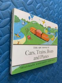 英文原版:the abc book of cars,trains,boats and planes 精装本