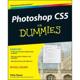 Photoshop CS5 For Dummies  傻瓜书-Photoshop CS5