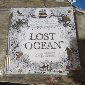 Lost Ocean: An Underwater Adventure & Colouring Book