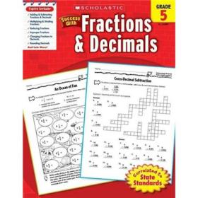 Scholastic Success with Fractions & Decimals: Grade 5