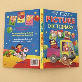 My First Picture Dictionary Hardcover – January 1, 1997 英文原版儿童书9780709708650