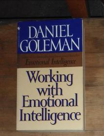 英文原版 Working with Emotional Intelligence by Daniel Goleman 著
